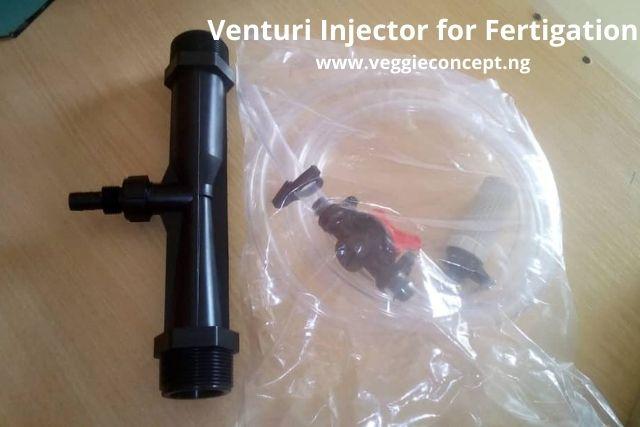 fertilizer injector for fertigation